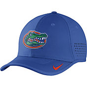 Nike Men's Florida Gators Blue Vapor Sideline Coaches Hat