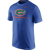 Nike Men's Florida Gators Blue University ELITE Basketball T-Shirt
