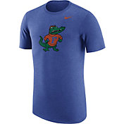 Nike Men's Florida Gators Heathered Blue Vault Tri-Blend T-Shirt