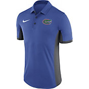 Nike Men's Florida Gators Blue Evergreen Performance Polo