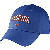 Nike Men's Florida Gators Blue Heritage86 Wordmark Swoosh Flex Hat