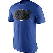 Nike Men's Florida Gators Blue Champ Drive Football T-Shirt