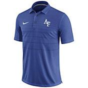 Nike Men's Air Force Falcons Blue Early Season Football Polo