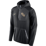 Nike Men's Florida State Seminoles Black Vapor Speed Fly Rush Sideline Jacket