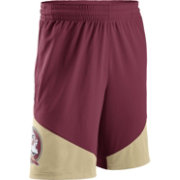 Nike Men's Florida State Seminoles Garnet/Gold New Classics Basketball Shorts