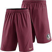 Nike Men's Florida State Seminoles Garnet Fly XL 5.0 Football Sideline Shorts