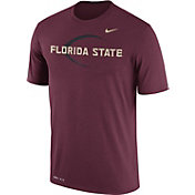 Nike Men's Florida State Seminoles Garnet Football Icon Legend T-Shirt