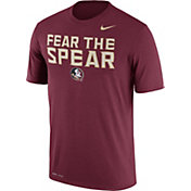 Nike Men's Florida State Seminoles Garnet 'Fear the Spear' Authentic Local Legend T-Shirt