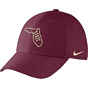 Nike Men's Florida State Seminoles Garnet Vault Dri-FIT Swoosh Flex Hat