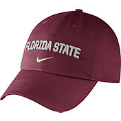 Nike Men's Florida State Seminoles Garnet Heritage86 Wordmark Swoosh Flex Hat