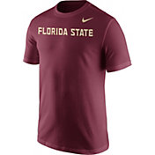 Nike Men's Florida State Seminoles Garnet Wordmark T-Shirt