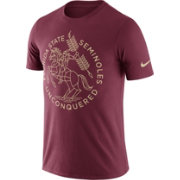 Nike Men's Florida State Seminoles Garnet Enzyme Washed College Campus Elements T-Shirt