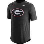 Nike Men's Georgia Bulldogs Football Player Black T-Shirt