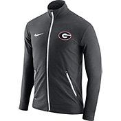 Nike Men's Georgia Bulldogs Anthracite Elite Players Dri-FIT Touch Full-Zip Jacket