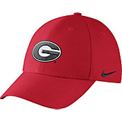 Nike Men's Georgia Bulldogs Red Dri-FIT Wool Swoosh Flex Hat