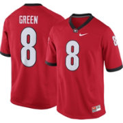 Nike Men's A.J. Green Georgia Bulldogs #8 Red Replica College Alumni Jersey