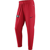 Nike Men's Georgia Bulldogs Red ELITE Fleece Pants