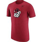 Nike Men's Georgia Bulldogs Heathered Red Vault Tri-Blend T-Shirt