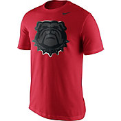 Nike Men's Georgia Bulldogs Red Champ Drive Football T-Shirt