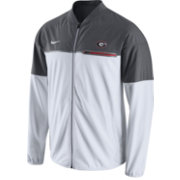 Nike Men's Georgia Bulldogs White/Grey Hybrid Flash Football Jacket