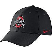 Nike Men's Ohio State Buckeyes Black Dri-FIT Wool Swoosh Flex Hat