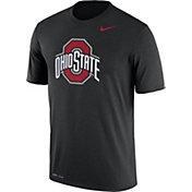 Nike Men's Ohio State Buckeyes Black Logo Dry Legend T-Shirt