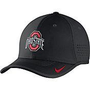Nike Men's Ohio State Buckeyes Black Vapor Sideline Coaches Hat