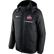 Nike Men's Ohio State Buckeyes Sideline Black Jacket