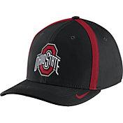 Nike Men's Ohio State Buckeyes Black Aerobill Swoosh Flex Classic99 Football Sideline Hat