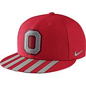 Nike Men's Ohio State Buckeyes Scarlet Throwback True Snapback Football Hat