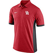 Nike Men's Houston Cougars Victory Block Performance Red/Black Polo