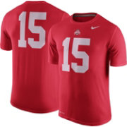 Nike Men's Ohio State Buckeyes #15 Scarlet Legend Football T-Shirt