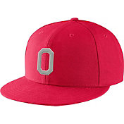 Nike Men's Ohio State Buckeyes Scarlet True Fitted On-Field Baseball Hat