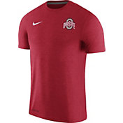 Nike Men's Ohio State Buckeyes Scarlet Coach Football T-Shirt