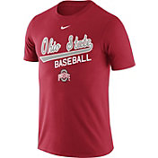 Nike Men's Ohio State Buckeyes Scarlet Team Issue Baseball Legend T-Shirt