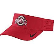 Nike Men's Ohio State Buckeyes Scarlet Vapor Sideline Visor