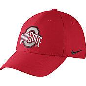 Nike Men's Ohio State Buckeyes Scarlet Dri-FIT Wool Swoosh Flex Hat