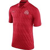 Nike Men's Ohio State Buckeyes Scarlet Dry Stadium Polo