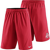 Nike Men's Ohio State Buckeyes Scarlet Fly XL 5.0 Football Sideline Shorts
