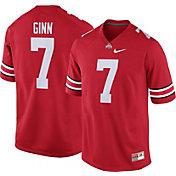 Nike Men's Ted Ginn Jr. Ohio State Buckeyes #7 Scarlet Replica College Alumni Jersey