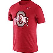 Nike Men's Ohio State Buckeyes Scarlet Ignite T-Shirt