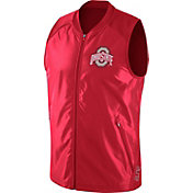 Nike Men's Ohio State Buckeyes Scarlet Hyperelite 2.0 Basketball Game Vest