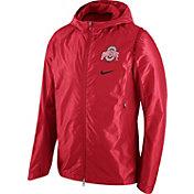 Nike Men's Ohio State Buckeyes Scarlet Hyperelite Game Jacket