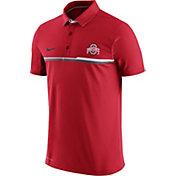 Nike Men's Ohio State Buckeyes Scarlet Elite Coaches Performance Polo