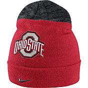 Nike Men's Ohio State Buckeyes Scarlet/Gray Sideline Beanie