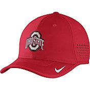 Nike Men's Ohio State Buckeyes Scarlet Vapor Sideline Coaches Hat