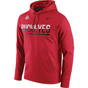 Nike Men's Ohio State Buckeyes Scarlet Circuit PO Hoodie