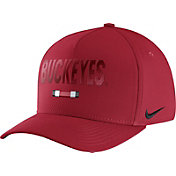Nike Men's Ohio State Buckeyes Scarlet Seasonal Swoosh Flex Classic99 Hat
