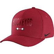 Nike Men's Ohio State Buckeyes Scarlet Seasonal Swoosh Flex Classic99 Hat