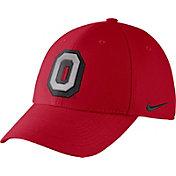 Nike Men's Ohio State Buckeyes Scarlet Vault Dri-FIT Swoosh Flex Hat